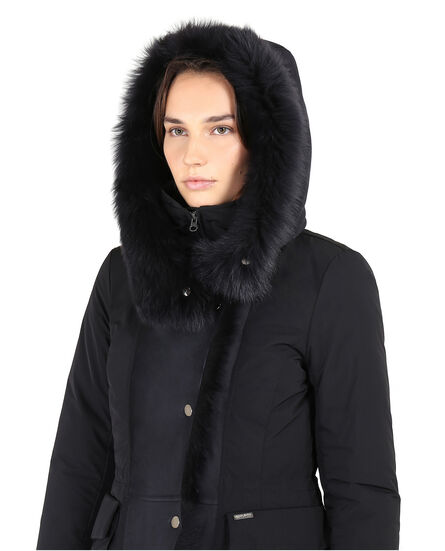 W'S City Shearling Parka
