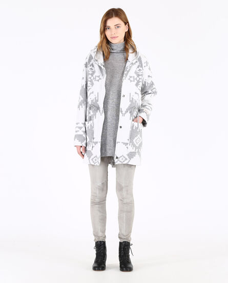 W'S Felted Wool Parka