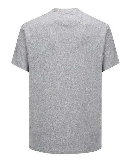 Logo Tee, LIGHT GREY MELA, hi-res