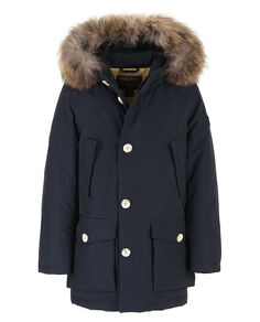B'S Parka Detachable Fur, DARK NAVY, hi-res