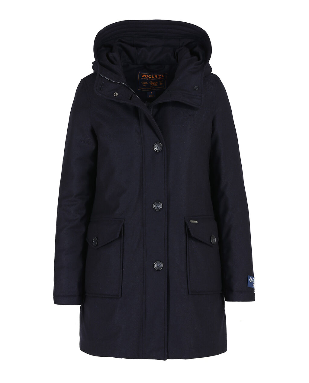 W'S Lp Wool Parka, 3333, hi-res