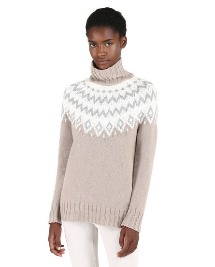 W'S Wool Cashmere Sweater, 8252, hi-res