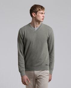 Gd Cotton V Neck