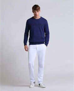 Jacquard Piquet Sweater Look