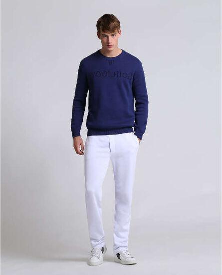 Jacquard Piquet Sweater Look