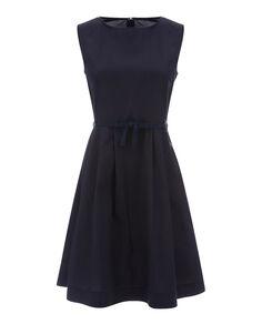 W'S Pocket Dress, NIGHT SKY, hi-res