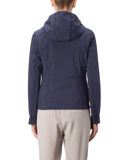 W'S Comfort Hooded Jkt, CLASSIC NAVY, hi-res