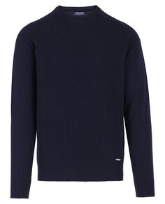 Mix Cashmere Crew Neck