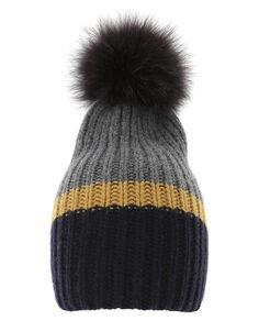 W'S Cashmere Pon Pon Hat, 1536, hi-res
