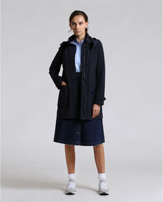 Stretch Parka high collar Look