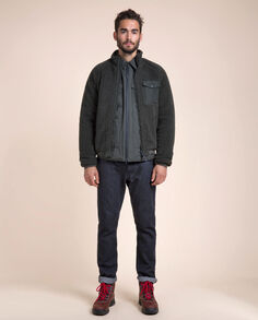 Merino Wool Bomber Look
