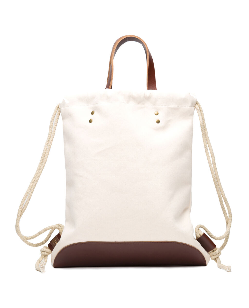 W'S Canvas Backpack, NATURAL, hi-res