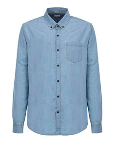 Chambray Shirt, LIGHT CHAMBRAY, hi-res