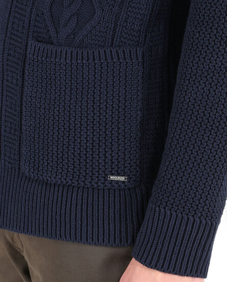 Heavy Cotton Cardigan