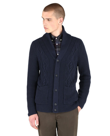 Heavy Cotton Cardigan