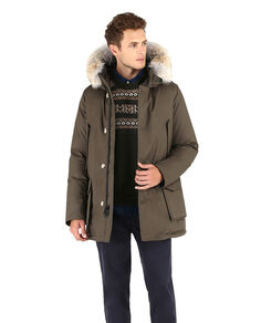 Laminated Cotton Parka Hc