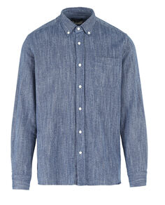 Indigo Flannel Shirt