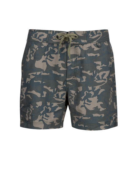 Printed Boardshort, FISHING GREEN C, hi-res