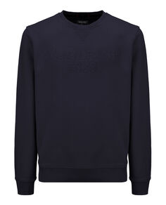 Logo Crew Neck, DARK NAVY A, hi-res