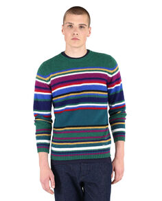Striped Wool Crew