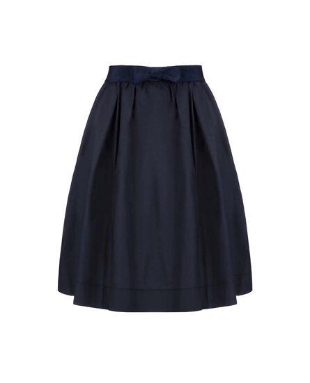 W'S Popeline Skirt, NIGHT SKY, hi-res