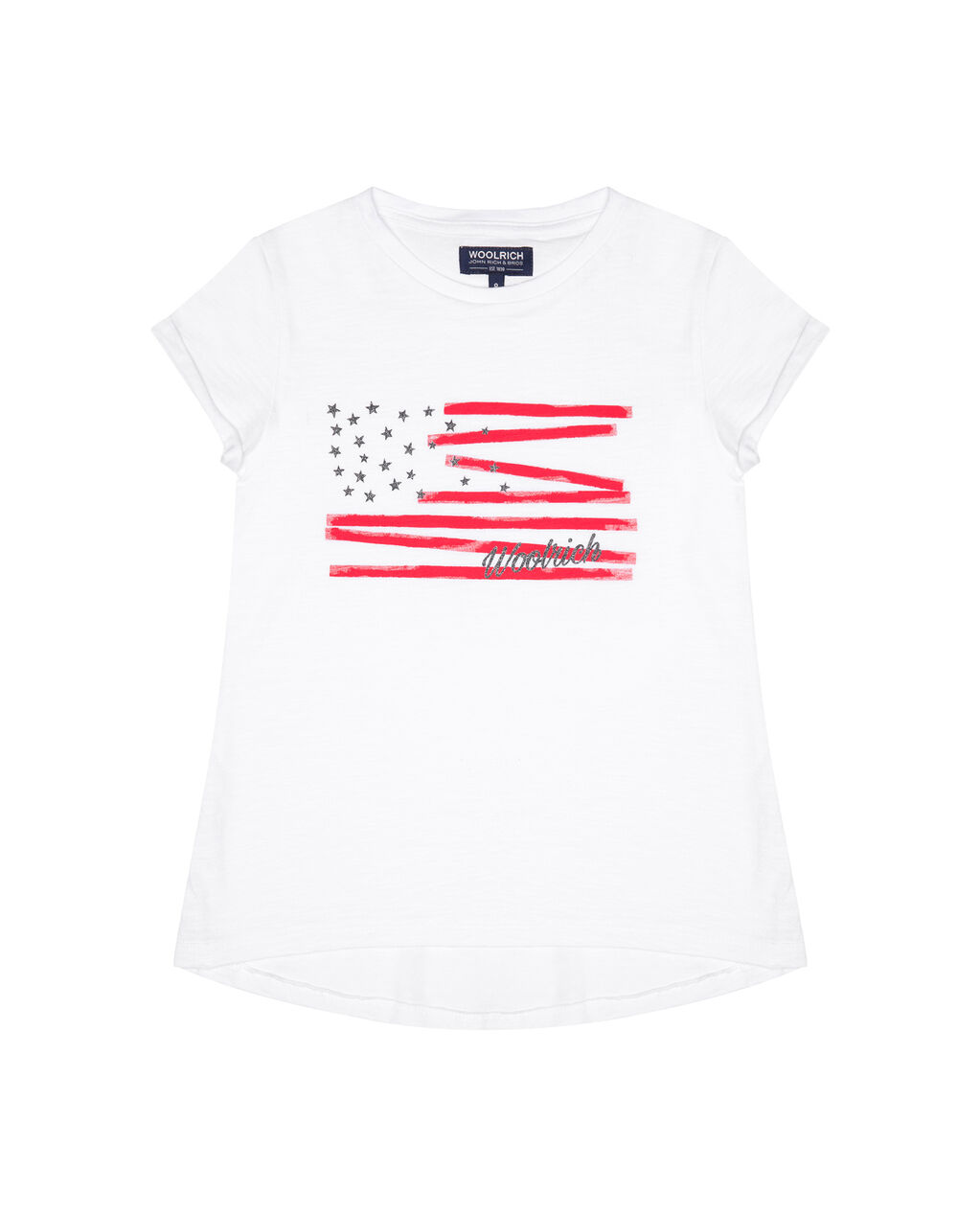 G'S Flag Tee, OPTIC WHITE, hi-res