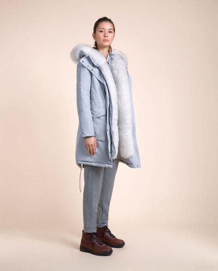 Military Parka New Fur Look