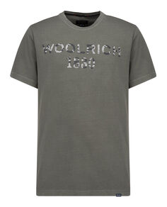 Woolrich 1830 Tee, FISHING GREEN, hi-res
