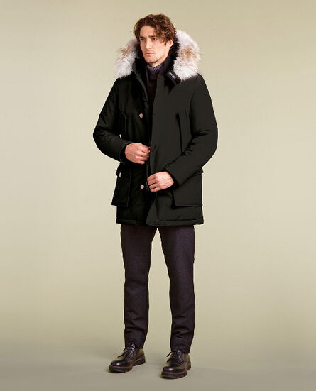 Arctic Parka detachable fur Look