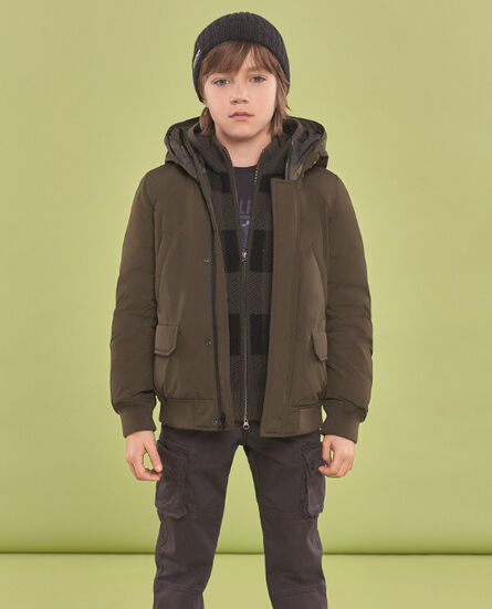 Boy's Arctic Jacket Camou no fur Look