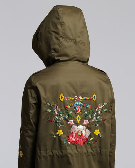 W'S Prescott Parka Embroidered