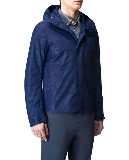 Camou Rudder Jkt, TWILIGHT BLUE, hi-res