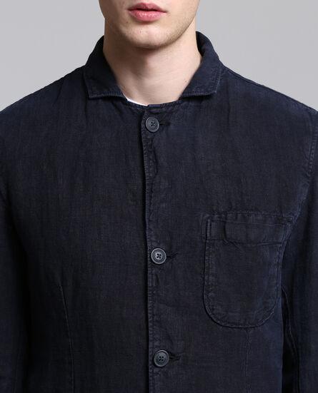 Raw Linen Blazer