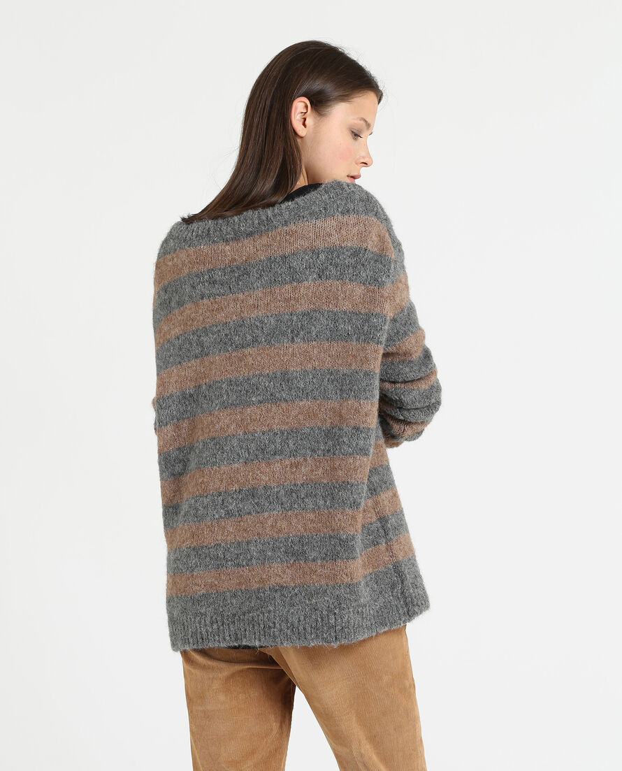W'S Alpaca V-Neck Sweater