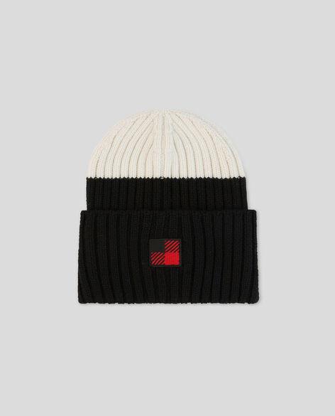 W'S Color Block Beanie Hat
