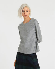W'S Felted Fleece Crew Neck