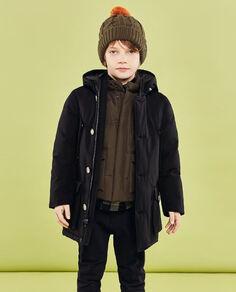 Boy's Arctic Parka no fur Look