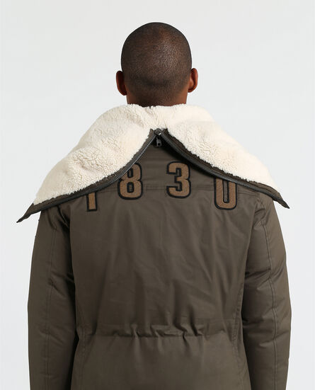 Military Parka Patch