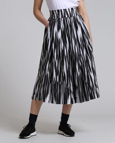 W'S Popeline Long Skirt