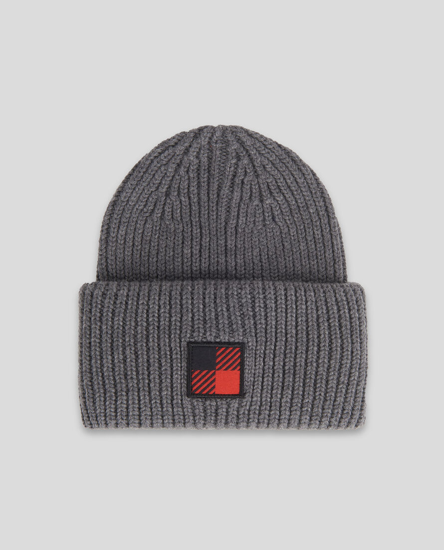 Winter Wool Logo Beanie Hat