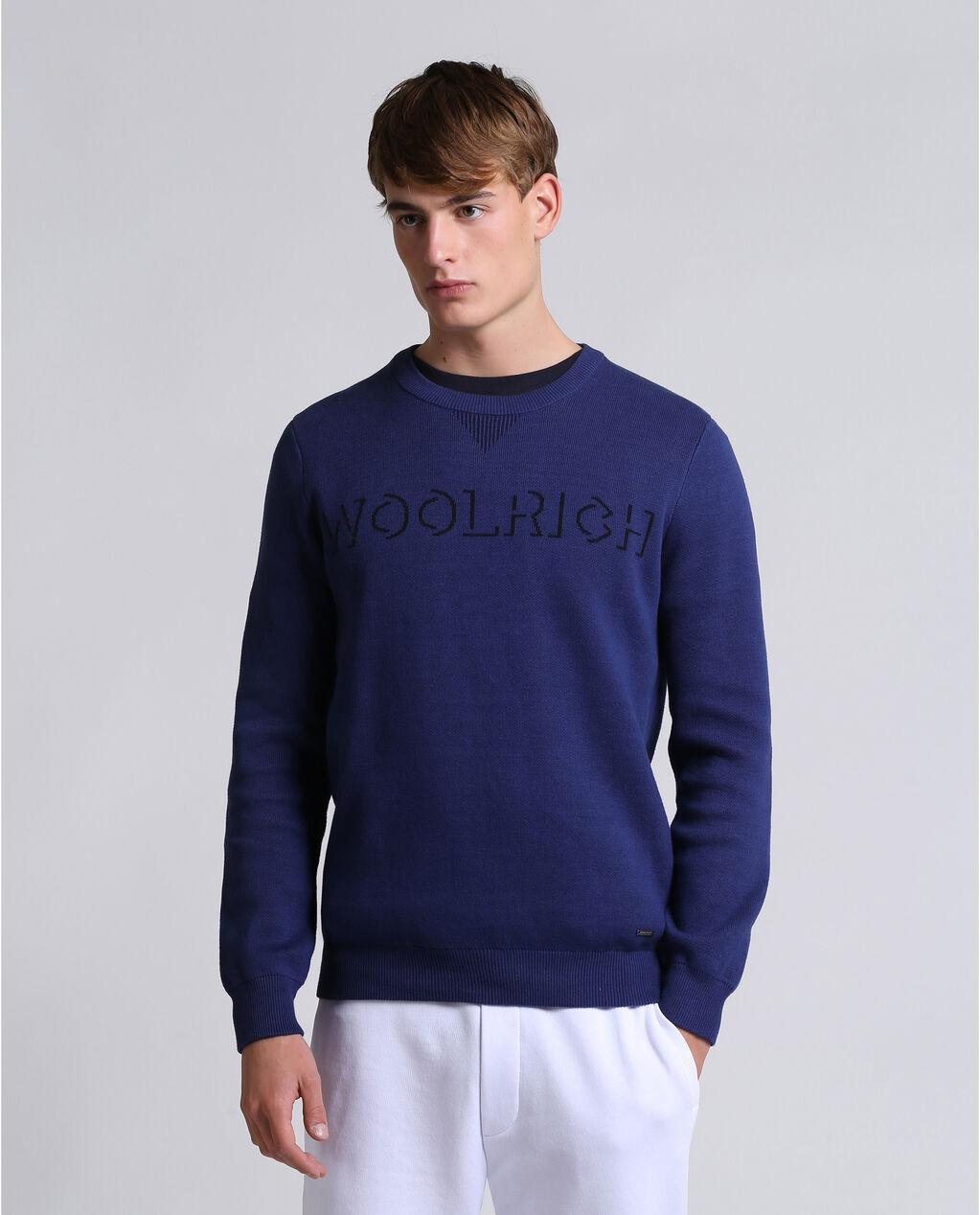 Jacquard Piquet Sweater