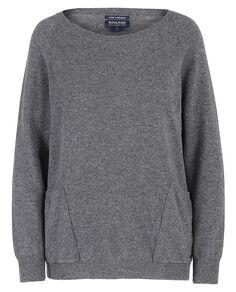 W'S Cashmere Raglan Sweater