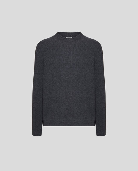 Wool Cashmere Crew Neck
