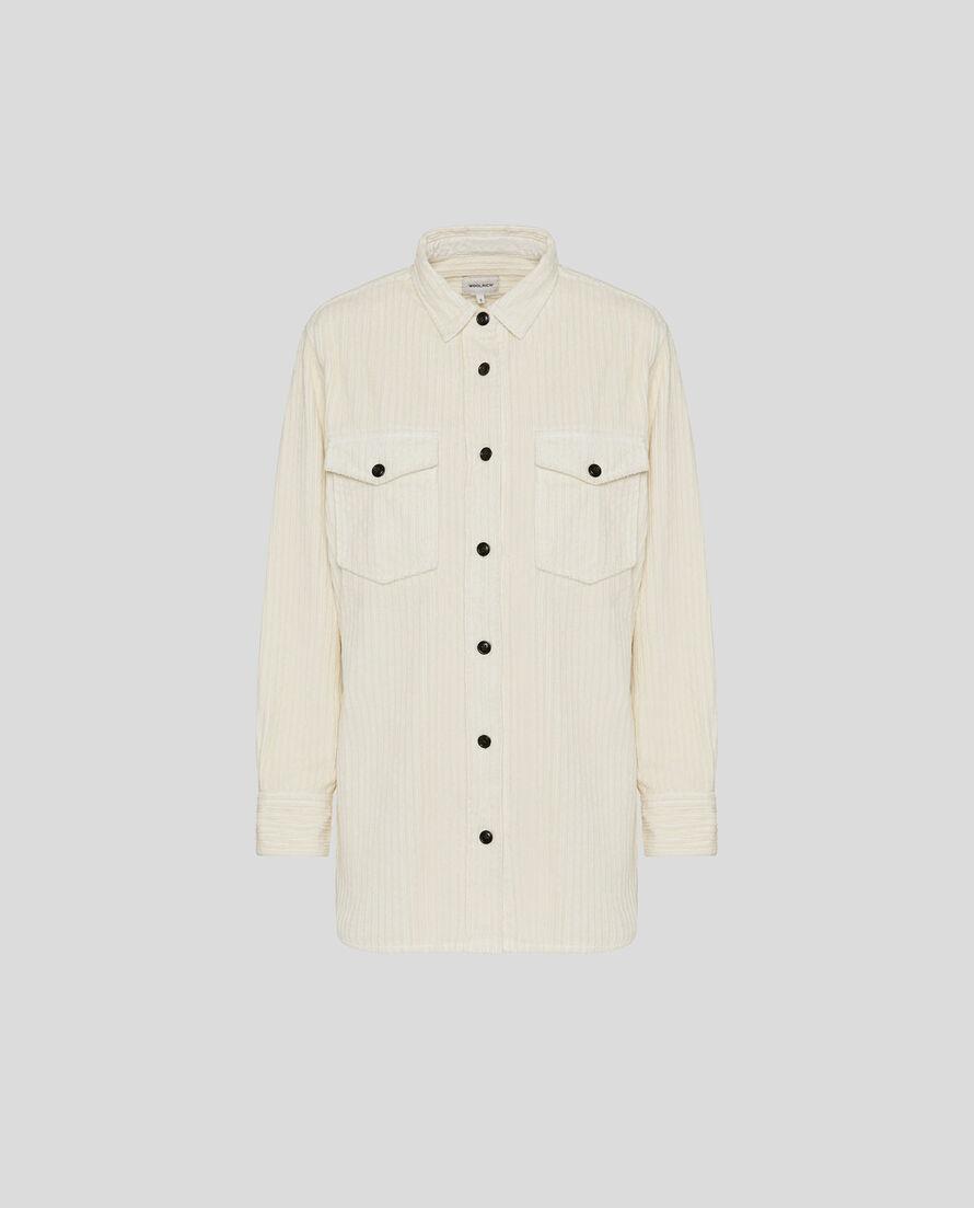 W'S Wide Corduroy Shirt
