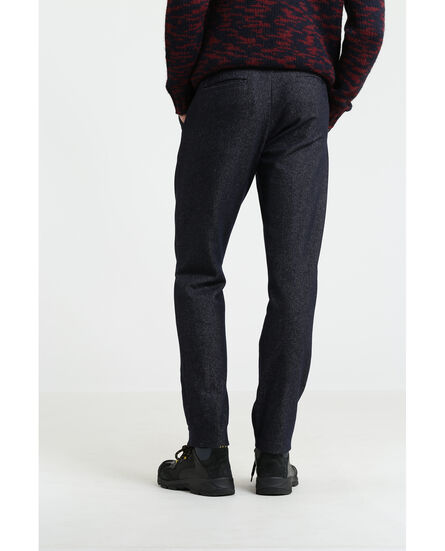 Wool Denim Pant