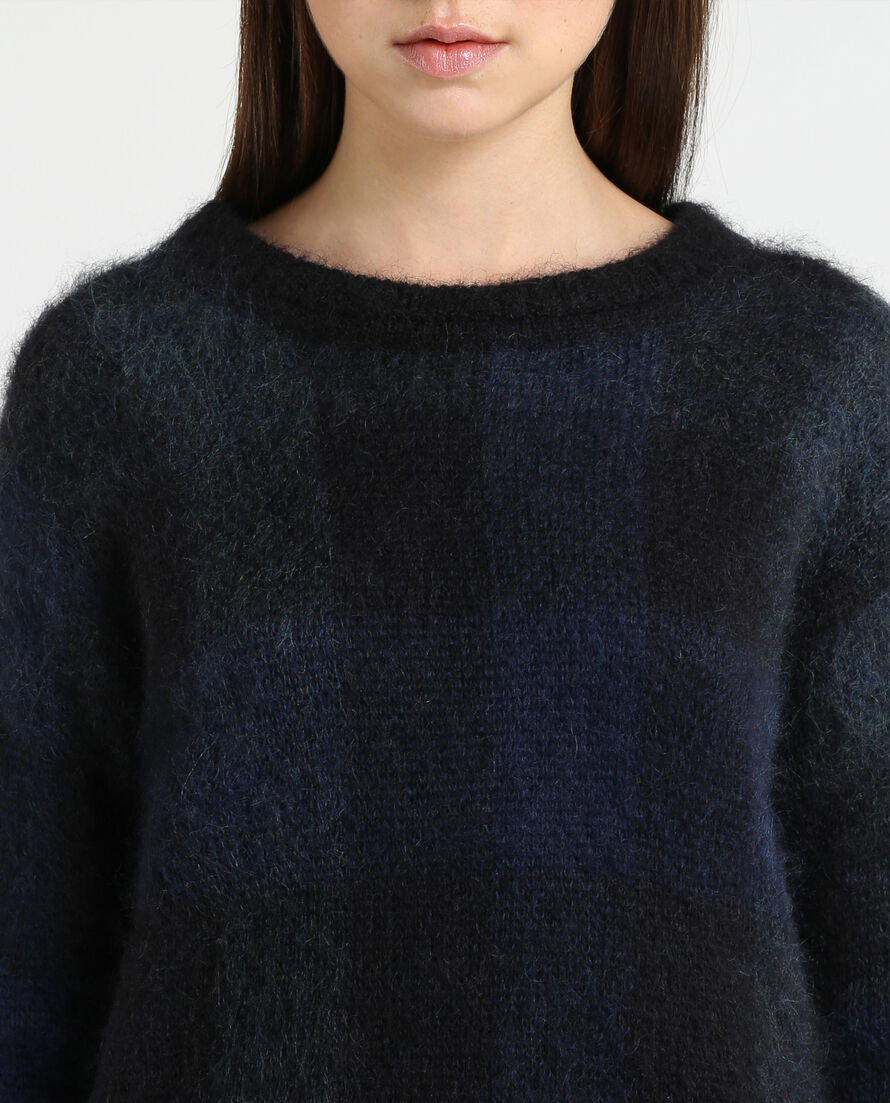 W'S Soft Brushed Crew Neck