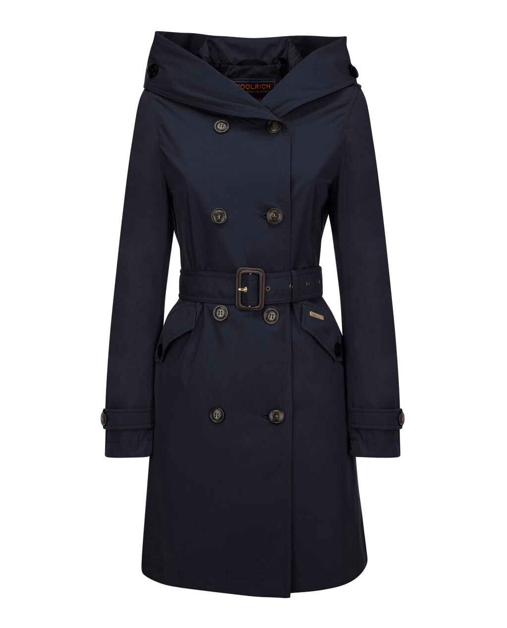 W'S Modern Trench, MIDNIGHT BLUE, hi-res