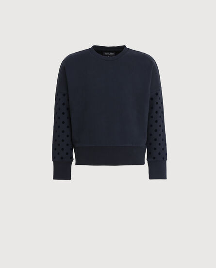 G'S Polka Dot Crew Neck