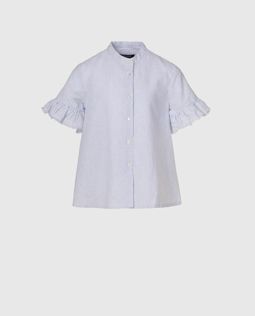 G'S Cotton Linen Over Shirt