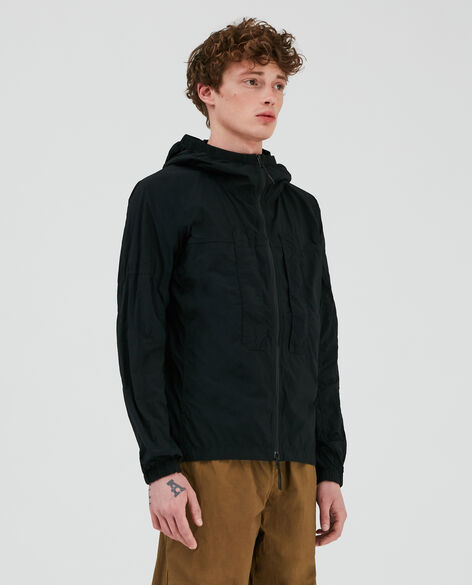 Over Dyed Nylon Utility Jacket